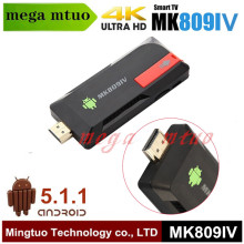 Mini PC Android tv box 4K RK3229 MK809IV Quad Core 2G/8G Smart tv Stick Google TV dongle KODI WiFi Bluetooth 4.0 Android 5.1.1