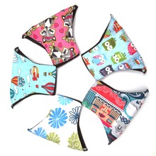 Colorful Charcoal Bamboo Cloth Reusable Menstrual Sanitary Maternity Mama Pads