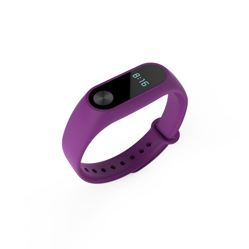 For Xiaomi Band 2 Bracelet Colorful Strap Wristband Replacement Smart Band Accessories For Mi Band 2 High quality Silicone