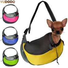 Breathable Dog Front Carrying Bags Mesh Comfortable Travel Tote Shoulder Bag For Puppy Cat Small Pets Slings Backpack Carriers(China)