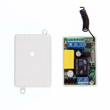 Mini Size  220V 1CH 1CH 10A Wireless Remote Control Switch Relay Receiver ,315/433.92 MHZ