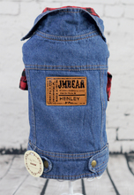 New Simple Denim Pet Dogs Vest Coat Free Shipping By China Post Dogs Clothes