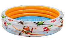3 Ring Kids Swimming Pool Planes Garden Intex Pool #58425(China)