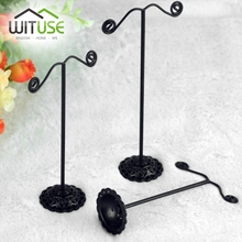 3 PCS(1 set) New Wholesale Earring Jewelry Acylic Metal Display Stand,Showcase Jewelry Display(China)