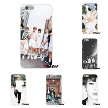 Bangtan Boys BTS Fashion Group Soft Silicone Cell Phone Cases Covers For HTC One M8 M9 A9 Desire 630 530 626 628 816 820