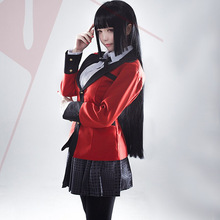 Uniform Stockings Jacket Cosplay-Costumes Anime Cool Kakegurui Yumeko Japanese School-Girls