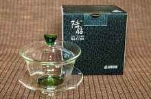 High Quality  Glass Gaiwan Cup With Heat-resistant Glass Tea Pot Tea Cup