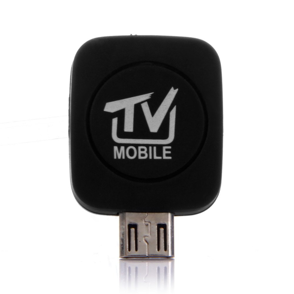 2017 New Micro USB DVB-T HD TV Tuner Digital Satellite Phone Dongle Receiver TV Stick For Android Phone Requirement Android  4.1