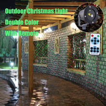 Outdoor Garden Decoration Waterproof IP65 Christmas Laser Light Star Projector Showers Red Green Moving Twinkle With IR Remote(China)