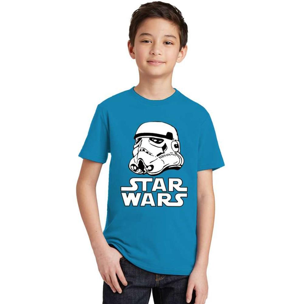17 movies Star Wars children boys t shirt kids Star Wars Printed shirt kids clothes boys t-shirt top children clothing enfant 3