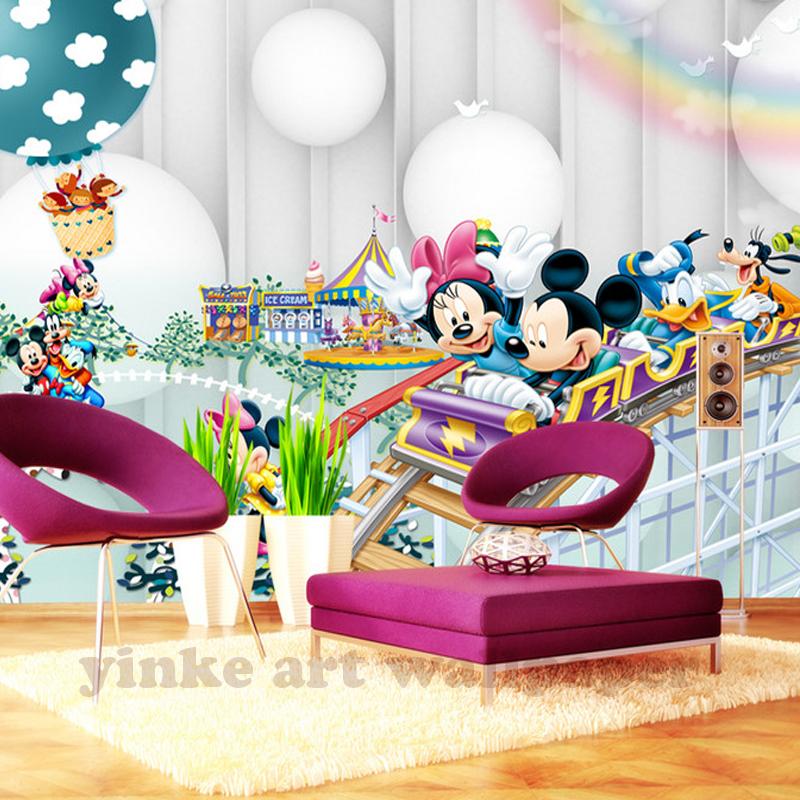 HTB1KLVJh2BNTKJjSszeq6Au2VXaG - New 3d Cartoon Wallpaper For Children Room-Free Shipping