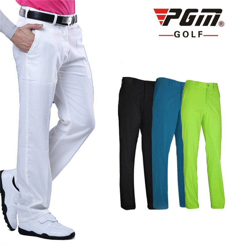 2016 Top selling golf clothing men golf pants quick dry colorful golf trousers XXS-XXXL 4colors outdoor PGM golf pants for men<br>
