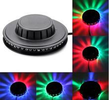 2017 New Bar Club Party 5W 48 LED Stage Lighting Show Disco DJ Laser Light Colorful KTV Rotary Stage Light(China)