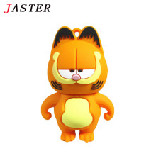 JASTER lovely Pen Drive Garfield cat 4GB 8GB 16GB 32GB Usb Flash Drive memory stick Pendrive Pendriver mini gift free shipping