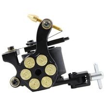 Besta Black Bullet 10 Wrap Tattoo Machine Coil Tattoo Gun for Liner and Shader Professional Tattoo Equipment for Sale