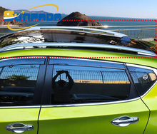 Alloy Steel+ABS Roof Rack/Roof Rail/Luggage Rack For NISSAN TIIDA/Pulsar/Latio/Versa 2016 2017 Accessories Car Styling