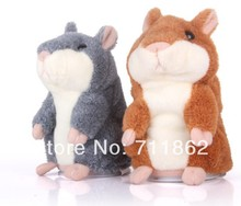 Talking Hamster Plush Toy Hot Cute Speak Talking Sound Record Hamster Toy