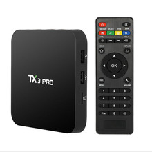 AKASO TX3 PRO Android 6.0 Amlogic S905X Quad core Set top box 1G 8G Android TV Box 2.4G WIFI Media Player Smart Tv Box(China)