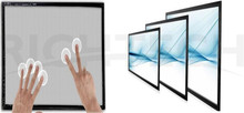 6, 10, 12 points multitouch 75 inch infrared multi touch panel kit touchscreen monitor tv frame overlay