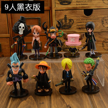 Anime One Piece Mini Action Figures The Straw Hats wcf Luffy/Roronoa Zoro/Sanji/Chopper Figure Toys 6pcs/set Free Shipping