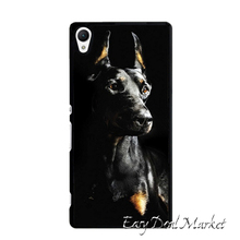 Doberman Pinscher Dog  Cover Case for Sony xperia Z Z1 Z2 Z3 Z4 Z5 Compact C C3 C4 C5 M2 M4 T2 T3 E4 X XA Performance