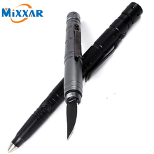 RU Portable Multifunction XPE LED Flashlight Torch 1000 LM Hiking Camping Pen light with protection function Tactical Knife