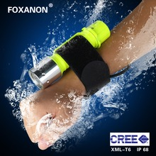 Diving CREE XML-T6 LED Flashlight 1800LM Waterproof Underwate 500M Torch Lighting 3 Modes Zoomable Flashlight For Outdoor(China)