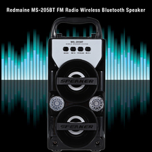 Hot Sale Loudspeaker Eonec MS-205BT Portable High Power Output FM Radio Wireless Bluetooth Speaker For Iphone And Android Phones