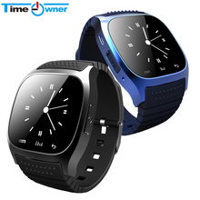 Timeowner Sport Bluetooth Smart Watch Luxury Wristwatch M26 with Dial SMS Remind Pedometer for Samsung LG HTC IOS Android Phone