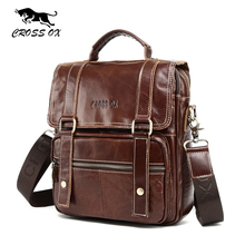CROSS OX 2017 Spring New Arrival Men's Bag Genuine Leather Bags For Men Handbag Shoulder Bag Messenger Bag Portfolio SL393M