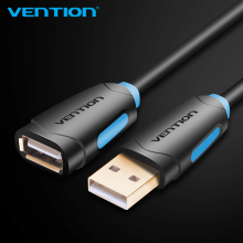 Vention USB2.0 Extension Cable Male to Female Super Speed USB Data Cable Extender For PC Keyboard Printer Mouse Computer Cable(China)