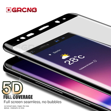 Buy 5D Curved Surface Tempered Glass Samsung Galaxy S8 S9 Plus S7 Edge Screen Protector Samsung Note 8 Full cover Film for $2.79 in AliExpress store