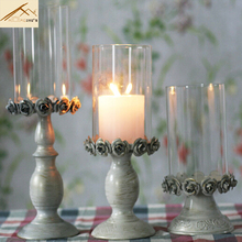 Good quality free shipping european Metal candle holder Candlestick  wedding  decoration house home  Christmas decorations gifts