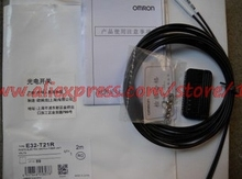 OMRON optical fiber sensor E32-D22