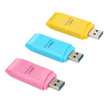 Candy Colors MINI 5Gbps Super Speed USB 3.0  Card Reader Adapter Compatible with Micro SD/SDXC /TF Card,  The Lowest Price!