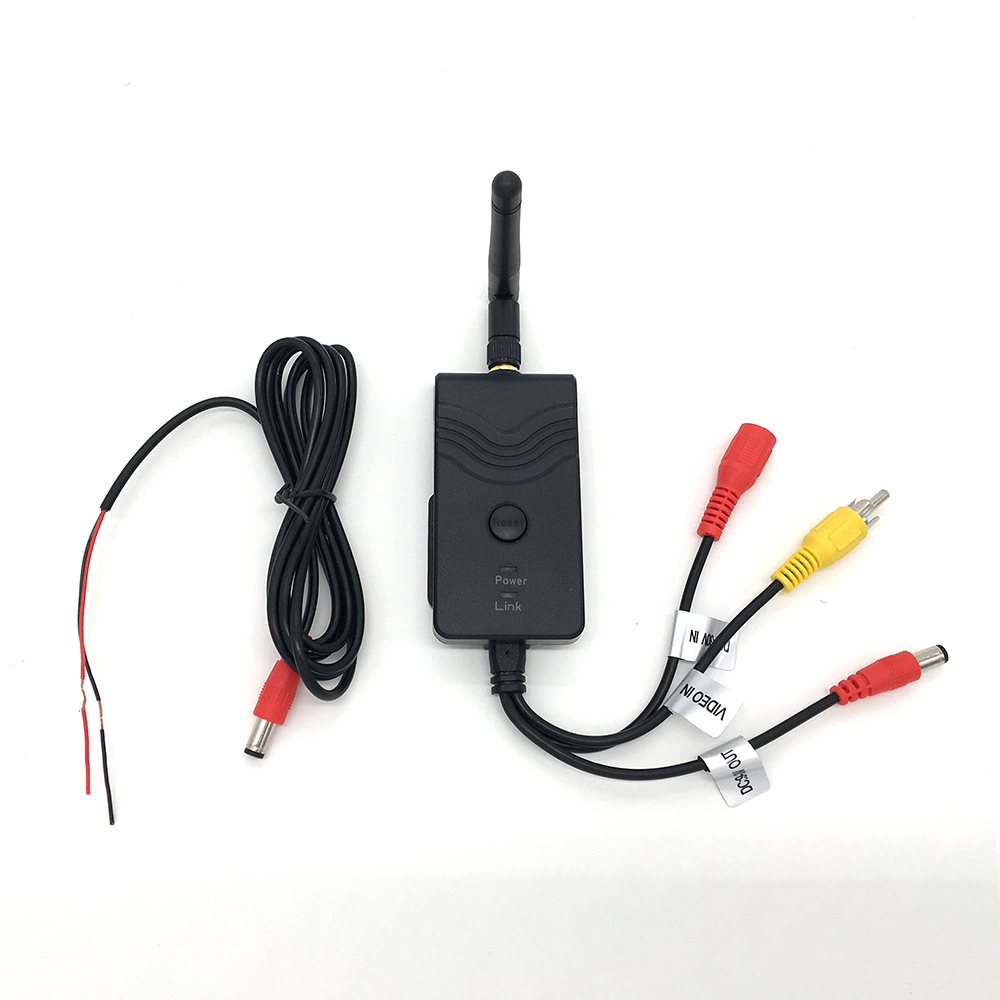 WishRing Wifi Car Backup Camera Realtime Video Transmitter for iPhone HTC Android 903W-DC Interface<br>