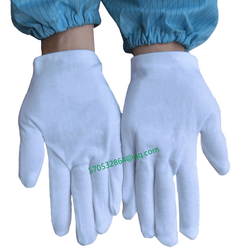 Thicken white pure cotton gloves rite the whole cotton industry text have fun to perform to perform the driver dish bead gloves<br><br>Aliexpress