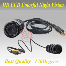"Free shipping CCD 1/3"" Car Rear view Camera Parking Back Up Reversing Camera For All Kinds of  Cars  Night vision"