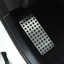 Car Foot Rest Footrest Dead Pedal Cover For Mercedes Benz A B C E S CLS SLK CLA GLA GLC GLE GLK ML G GL AMG Series ,1 pcs