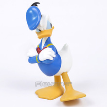 Cartoon Donald Duck Toys Dolls Vinyl Figure Collectible Kids Toys Birthday Christmas Gift 16CM(China)