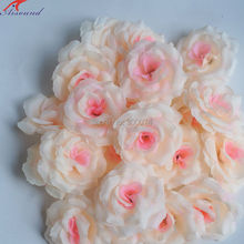 Wedding Decoration Flowers Artificial Silk Rose Flowers For A Wedding DIY Crafts Flower Head Silk Handmade Roses(China)