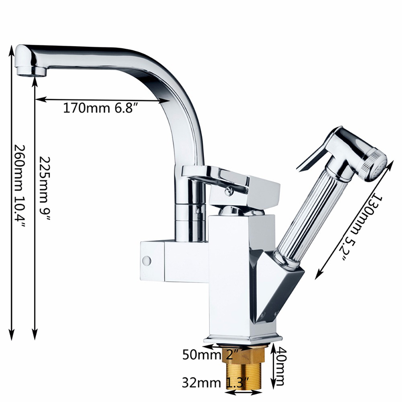 Ulgksd-Chrome-Brass-Kitchen-Faucet-Pull-Out-Sprayer-Vessel-Bar-Sink-Faucet-Single-Handle-Hole-Two(1)