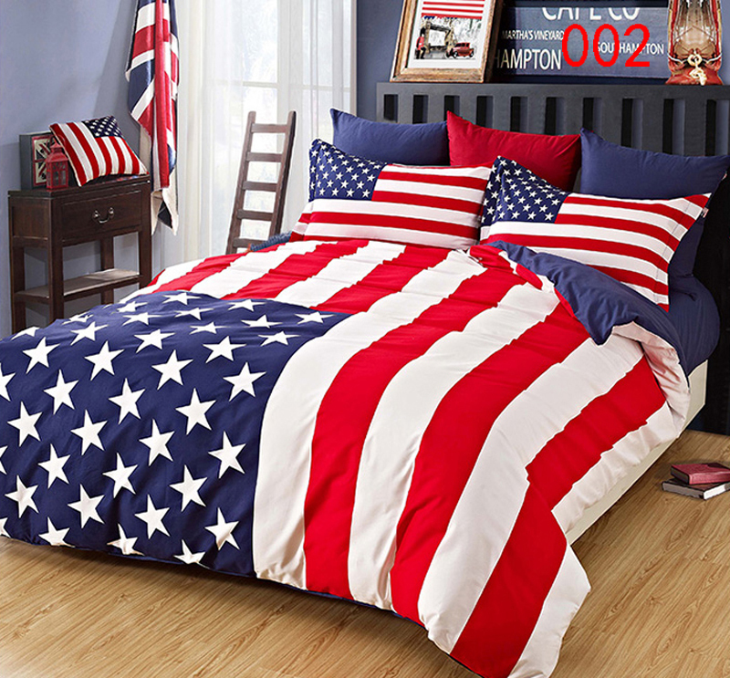 stars and stripes bettw sche my blog. Black Bedroom Furniture Sets. Home Design Ideas