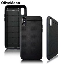 OliveMoon Fashion Dream Mesh Soft TPU Silicone Shockproof Case For iPhone X Cell Phone Cover For iPhone 6 6S Plus 7 7 8 Plus(China)