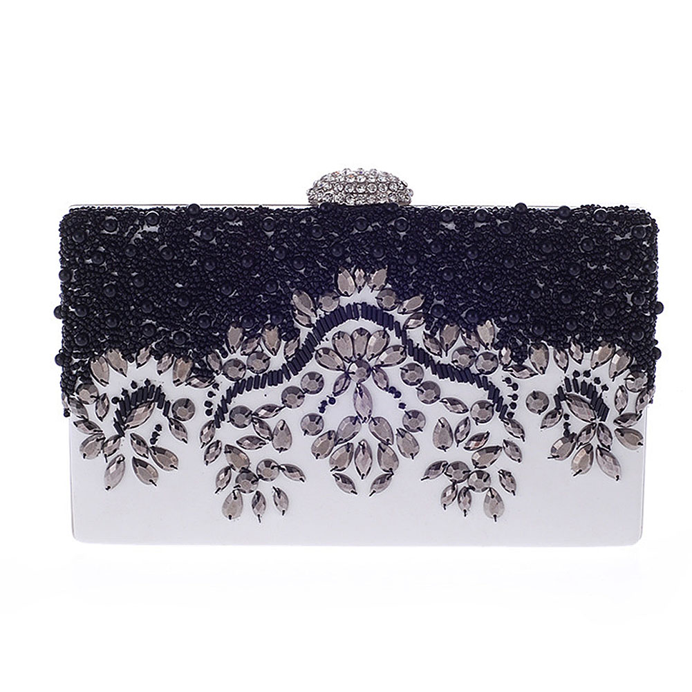 Rhinestone Metal Chain Preppy Style Lady Phone Messager Bag Clutches Evening Bag<br><br>Aliexpress