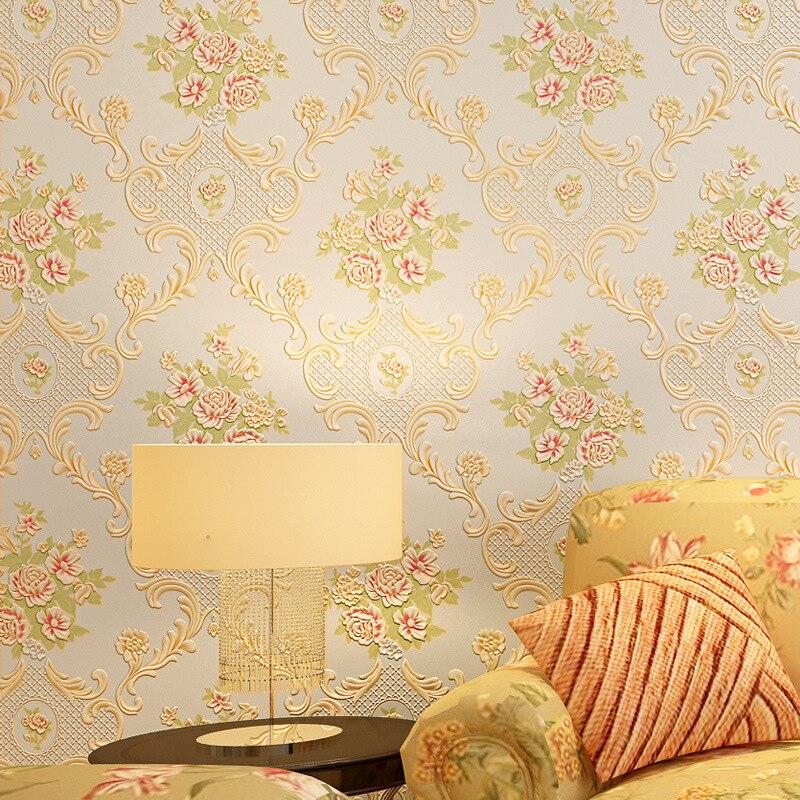 beibehang  natural designer shimmer effect botanical garden floral vinyl wallpaper roll home decor papel de parede 3d wall paper<br>