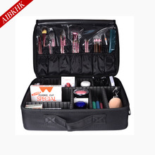 2017 Professional Makeup Bag Women Cosmetic Bags&Case High Quality Oxford Female Korean Makeup Box Large Capacity Wash Bags(China)