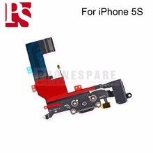 High Quality USB Charger Dock Charging port For iPhone 5S Connector data Flex Cable