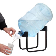 Detachable Bracket Bottled Water Hand Press Type Water Dispenser Drinking Bucket Pure Mineral Water Folding Rack