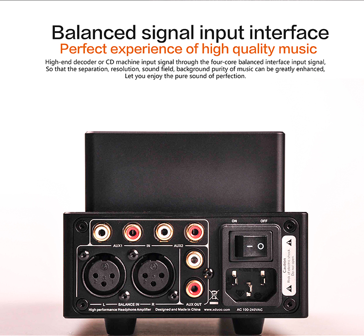 Original Newest XDUOO TA-20 High Performance Balanced Tube Headphone Amplifier Power Amplifier
